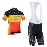 2013 Maillot Cyclisme Omega Pharma Quick Step Champion Belgique Manches Courtes et Cuissard