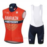 2017 Gilet Coupe-vent Bahrain Merida Orange