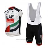 2017 Gilet Coupe-vent Uae Blanc