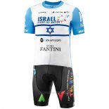 2020 Maillot Cyclisme Israel Cycling Academy Champion Israele Manches Courtes et Cuissard