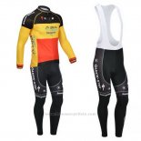 2013 Maillot Cyclisme Omega Pharma Quick Step Champion Belgique Manches Longues et Cuissard