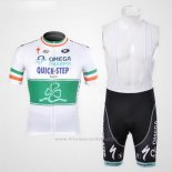 2012 Maillot Cyclisme Omega Pharma Quick Step Champion Irlandese Manches Courtes et Cuissard