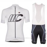 2018 Maillot Cyclisme Cipollini Shading Blanc Manches Courtes et Cuissard